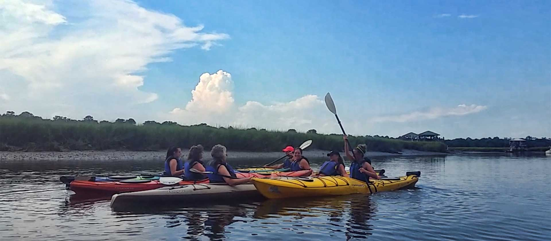 Shem Creek Kayaking